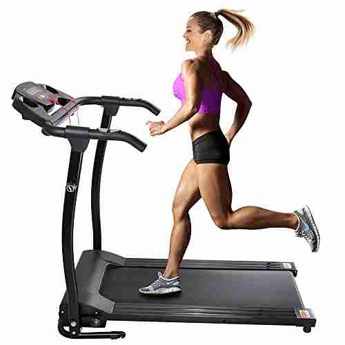 1100W Electric Folding Treadmill